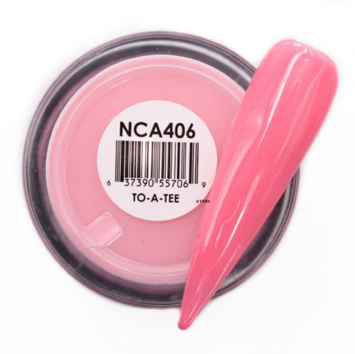 GLAM AND GLITS NAKED COLOR ACRYLIC - NCAC406 TO-A-TEE